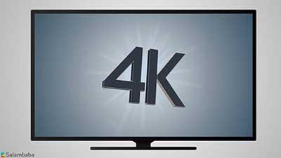 شکل-تلويزيون 4K