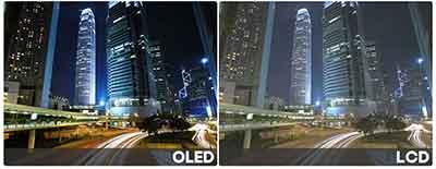 شکل-روشنایی و کنتراست تلویزیون OLED اولد