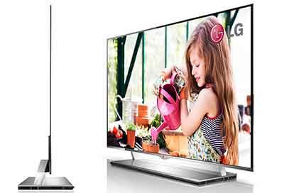 شکل-ضخامت و وزن تلویزیون OLED اولد
