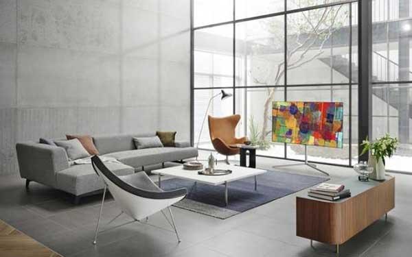 """شکل3 – مدل۲۰۲۱تلویزیون اولد ال جی سری """"LG G1 """"Gallery"""