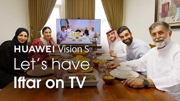 شکل- تلویزیون هواوی Vision S